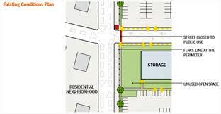 Security Floor Plan Site Security Design Case Study Wbdg Whole Building Design Guide