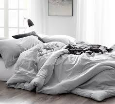 light gray twin comforter natural loft light gray oversized twin bedding set comfortable gray