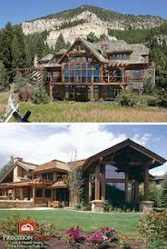 Houses With Big Windows Decor My Is To Someday Own A Log Cabin In The Mountains With A