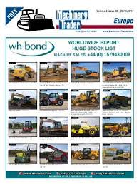Wood Machine Traders South Africa by Machinerytrader Co Uk Plant Equipment For Sale Listings