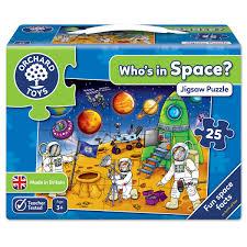 who u0027s in space jigsaw