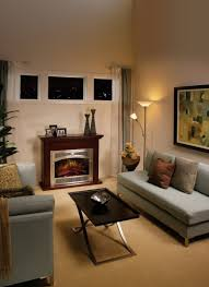 fireplace electric fireplace insert with silver frame and stove
