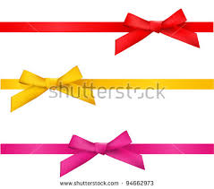 gold ribbon bow stock images royalty free images vectors