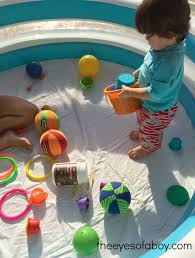 Backyard Toddler Toys Backyard Sensory Fun For Toddlers The Eyes Of A Boy