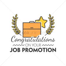 cover letter congratulations job promotion congratulations on job
