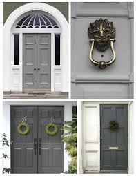 Modern Door Knockers Exterior Color Inspirations The Understated Elegance Of The