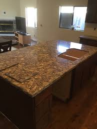 How Much Overhang For Kitchen Island Kitchen Countertops Trinidad Tile And Granite Kitchen Counter