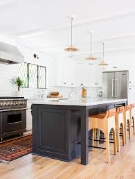 white kitchen with black island best 25 eclectic kitchen island lighting ideas on