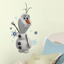 wall decals decor home kohl disney frozen olaf peel stick wall stickers