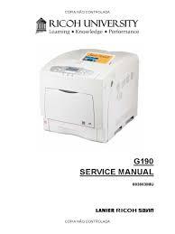 ricoh aficio sp c420dn service manual secure digital fax