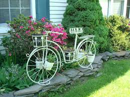 page 142 of planters category bicycle planter stand white