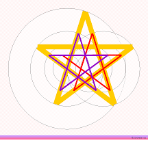 draw five point star pentagram pentacle pentagon other stars how to