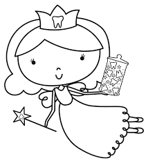 tooth fairy coloring page boredom busters colouringin the daily advertiser within daily