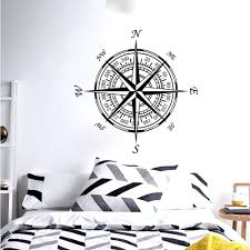 wall ideas nautical themed bathroom lighthouse wall decor nautical wall art compass nautical compass rose wall art stickers decals home diy decoration wall mural removable bedroom decor nautical wall art canada