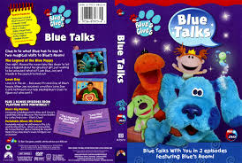 blues clues blue talks