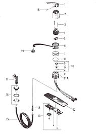 american standard kitchen faucet parts diagram american standard kitchen faucet parts diagram lakeland 100