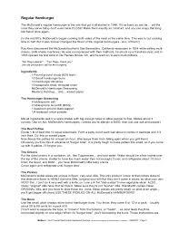 www mcdonalds application form mcdonalds job application form