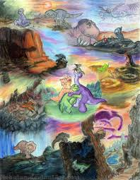 the land before time by nebulan on deviantart