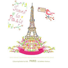 amazon colouring books kids paris childrens coloring