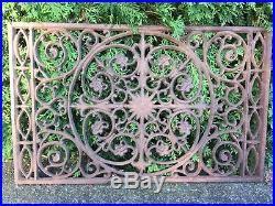 Cast Iron Doormat Large Victorian Cast Iron Window Grate Antique Architecture Garden