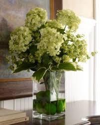 Artificial Flower Arrangement In Vase Hydrangea Silk Flower Arrangements Foter