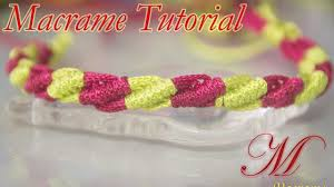 How To Make Bohemian Jewelry - how to make macrame easy bracelet tutorial macrame loops knots