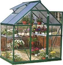 Palram Gazebo Poly Tex Palram Nature Series Hybrid Hobby Greenhouse 6x4