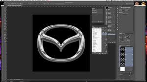 logo de mazda tutorial logo mazda 2 parte illustrator u0026 photoshop youtube