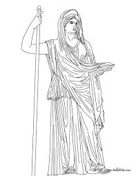 greek goddesses coloring pages hera the greek matron goddess