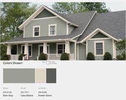 new home exterior color schemes top modern bungalow design
