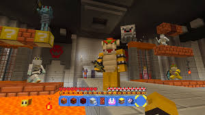 nintendo u0027s new minecraft mash up is a love letter to super mario