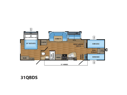 Jayco Jay Flight Floor Plans by 2018 Jayco Jay Flight 31qbds Donna Tx Rvtrader Com