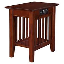 chairside table with power target