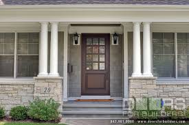 Custom Size Exterior Doors Classic Collection Solid Wood Front Entry Door Clear