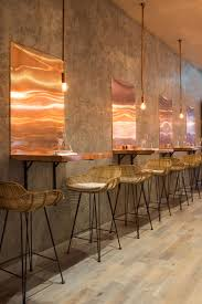 london restaurant impresses with lots of copper beauty