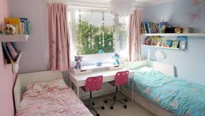 Bedroom Pink And Blue Twin Girls Bedroom Reveal Renovation Bay Bee