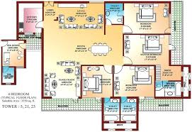 simple 4 bedroom house plans blueprints 4 bedroom house lkc1 club