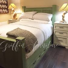 california king size bed frame with storage drawers under the