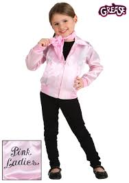 pink wig spirit halloween grease costumes kids grease movie costumes