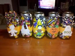 scrap this craft that halloween candy jars