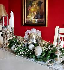 Christmas Decorations On Dining Table by Christmas Dining Room Table Decoration Ideas Home Design