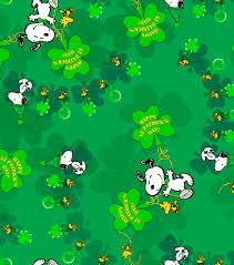 holiday inspirations fabric st patrick u0027s day peanuts joann