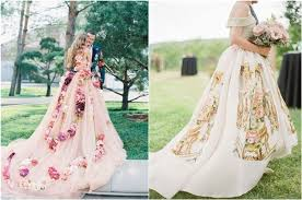 shop wedding dresses 30 floral wedding dresses you can shop now deer pearl flowers