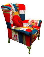 Patchwork Armchair For Sale Patchwork Armchair Ebay