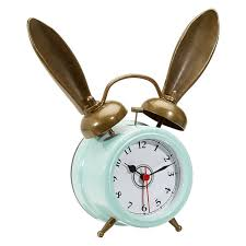 bedroom clocks the emily meritt bunny alarm clocks pbteen