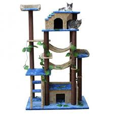 castle cat tree house