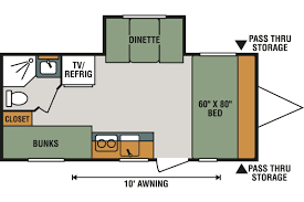 100 travel trailer floor plans with bunk beds lance 2185