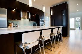 kitchen island with breakfast bar and stools bar stools kitchen contemporary with bar beige counter