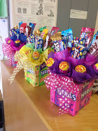 balloon and candy bouquets add some easter mylar balloons bubbles or other toys and gaby bow