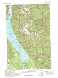 Lake Washington Map by Kachess Lake Topographic Map Wa Usgs Topo Quad 47121c2